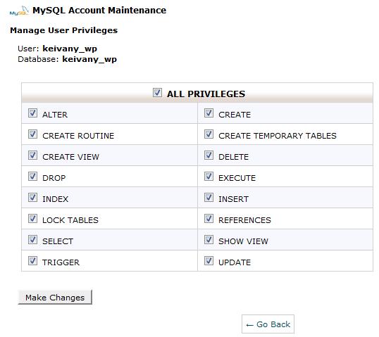سطوح دسترسی کاربر به پایگاه داده